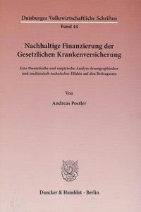 Nachhaltige Finanzierung der Gesetzlichen Krankenversicherung