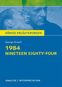 1984 - Nineteen Eighty-Four von George Orwell.