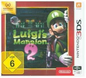 Luigi\'s Mansion 2 Selects, Nintendo 3DS-Spiel