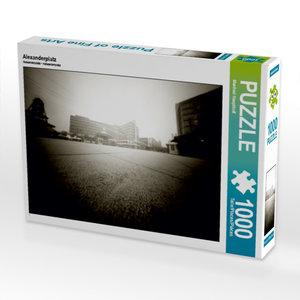 Alexanderplatz 1000 Teile Puzzle quer