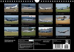 Militärflugzeuge der besonderen Art
