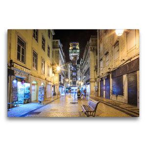 Premium Textil-Leinwand 75 cm x 50 cm quer Elevador de Santa Jus