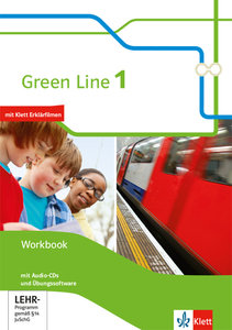 Green Line 1. Workbook mit Audio-CD und Lernsoftware 5. Klasse