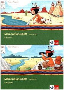 Mein Indianerheft. Lesen Paket. Klasse 1+2