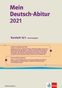 Mein Deutsch-Abitur 2021. Ausgabe Niedersachsen. Kursheft 12/1 L