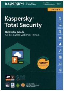 Kaspersky Total Security Upgrade (FFP), 1 Code in a Box