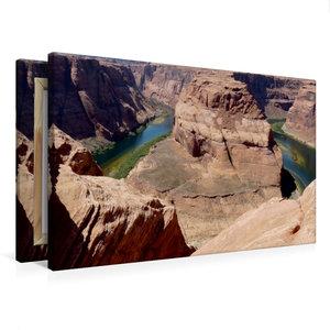 Premium Textil-Leinwand 75 cm x 50 cm quer Horseshoe Bend, Arizo
