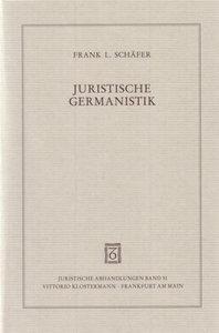 Juristische Germanistik