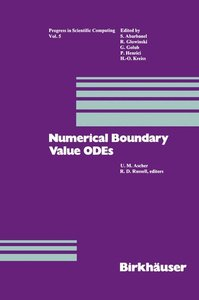 Numerical Boundary Value ODEs
