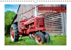 Traktoren - Zuverlässig am Zug (Wandkalender 2014 DIN A4 quer)