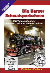 Die Harzer Schmalspurbahnen, 1 DVD