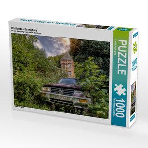 Rostlaube - SsangYong 1000 Teile Puzzle quer