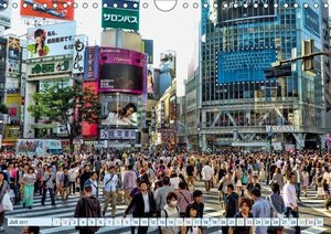 Tokio - Hightech und Menschenmassen