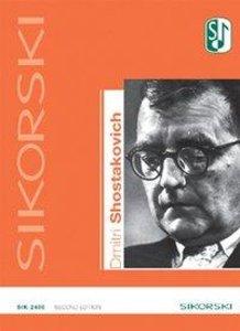 Dmitri Schostakowitsch - Werkverzeichnis