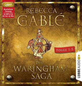 Die Waringham-Saga - Teil 1-Teil 5, 10 Audio-CDs, MP3 Format