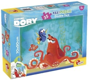 Finding Dory (Kinderpuzzle), Maxi-Puzzle Double-Face 35