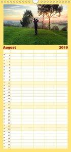 Golf Sport - Familienplaner hoch (Wandkalender 2019 , 21 cm x 45