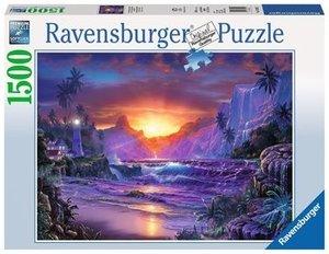 Pärchen im Regenwald (Puzzle)
