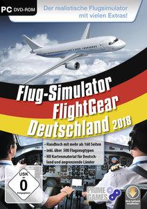 Flug-Simulator - Flight Gear - Deutschland 2018