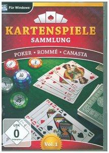 Kartenspielesammlung Vol. 1. Für Windows Vista/7/8/8.1/10