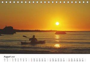 Die Lofoten - Magie des Lichtes (Tischkalender 2019 DIN A5 quer)
