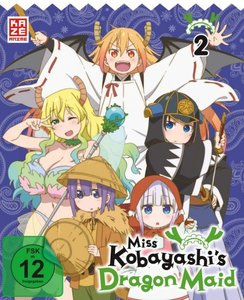 Miss Kobayashi\'s Dragon Maid - DVD 2