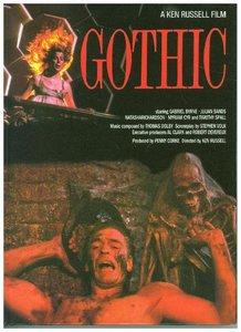 GOTHIC - A Ken Russell Film - Mediabook 24-seitiges Booklet - Li