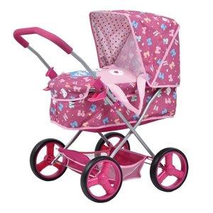 hauck Lief! Puppen-Wagen Gini pink Herz, FH-Exklusiv