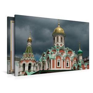 Premium Textil-Leinwand 120 cm x 80 cm quer Roter Platz mit Kasa