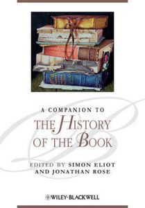 A Companion to the History of the Book