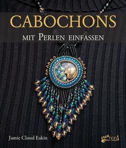 Cabochons mit Perlen einfassen