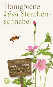 Honigbiene küsst Storchschnabel
