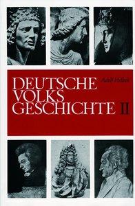 Deutsche Volksgeschichte - Band 1 + 2