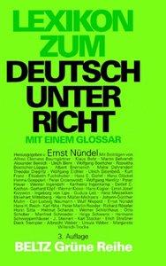 Lexikon zum Deutschunterricht