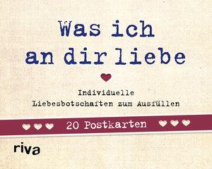 Was ich an dir liebe - 20 Postkarten