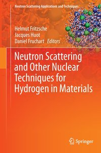 Neutron Scattering and Other Nuclear Techniques for Hydrogen in