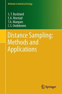 Distance Sampling: Methods and Applications