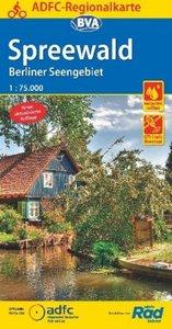 ADFC-Regionalkarte Spreewald /Berliner Seengebiet mit Tagestoure
