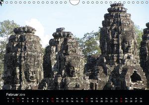 Die Tempelanlagen von Angkor (Wandkalender 2019 DIN A4 quer)