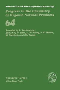 Fortschritte der Chemie organischer Naturstoffe / Progress in th