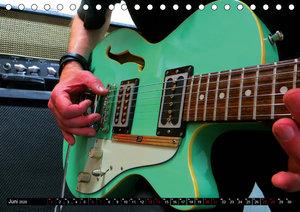 Gitarren und Amps - abgerockt (Tischkalender 2020 DIN A5 quer)