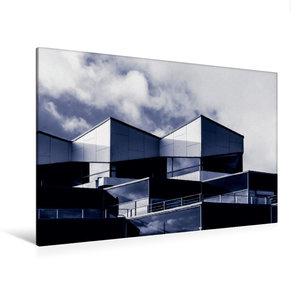 Premium Textil-Leinwand 120 cm x 80 cm quer Damp