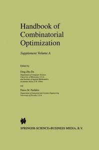 Handbook of Combinatorial Optimization