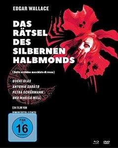 Edgar Wallace: Das Rätsel des silbernen Halbmonds, 1 Blu-ray + 2
