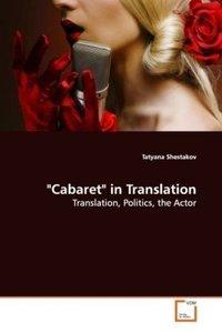 """""""Cabaret"""" in Translation"""