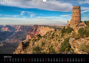 Spektakulärer Westen der USA (Wandkalender 2019 DIN A3 quer)