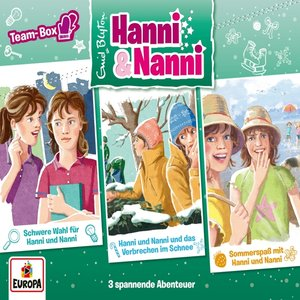 Hanni und Nanni - 3er Box 17. Teambox ( Folgen 56, 57, 58)