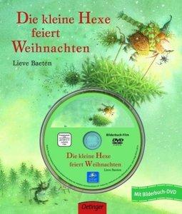 Die kleine Hexe feiert Weihnachten. Bilderbuch mit DVD