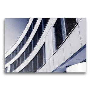 Premium Textil-Leinwand 75 cm x 50 cm quer Kassel