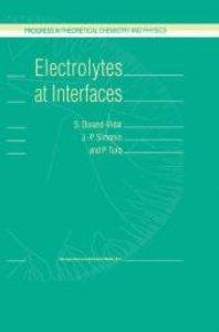 Electrolytes at Interfaces